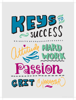 Picture of Keys to Success (11x14)