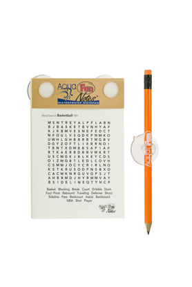 Picture of Aqua Fun Notes™ - Word Search