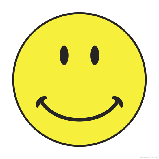 Picture of Smiley Face (12x12)