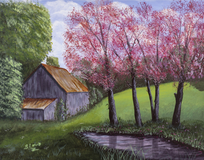 Picture of Barn Art (14x11)